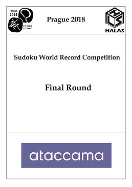 Úlohy z finále soutěže o světový rekord